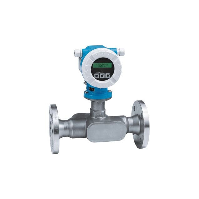 Ultrasonic flow meter / for liquids / for chemicals / with display Proline  Prosonic Flow 92F Endress+Hauser AG