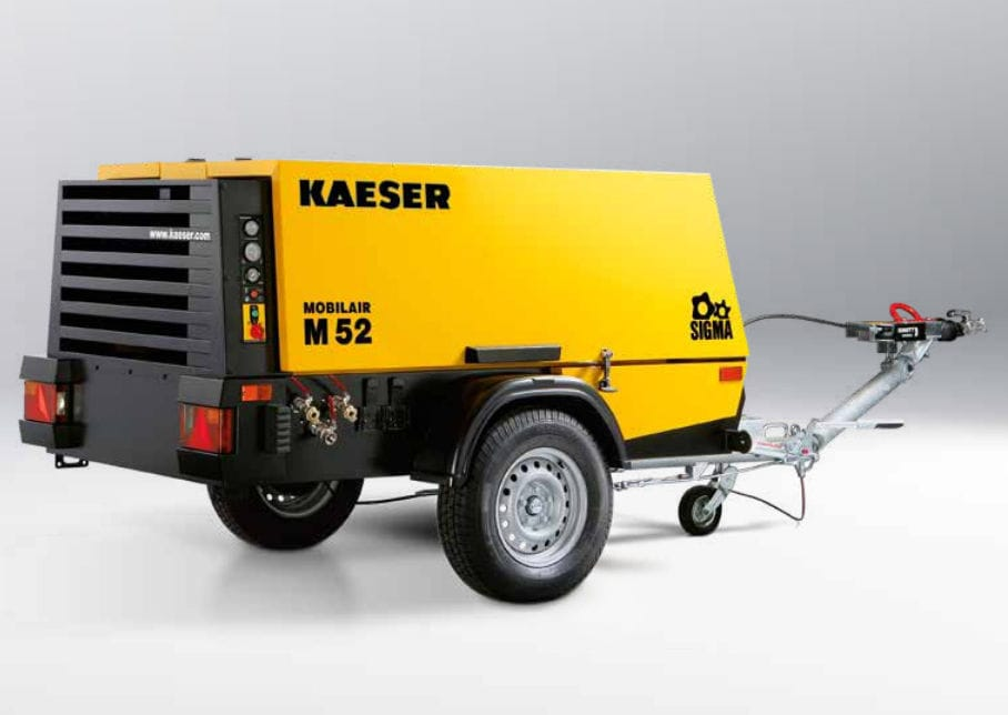 Mobile Air Compressor >> Air Compressor Mobile Diesel Engine Screw Mobilair M