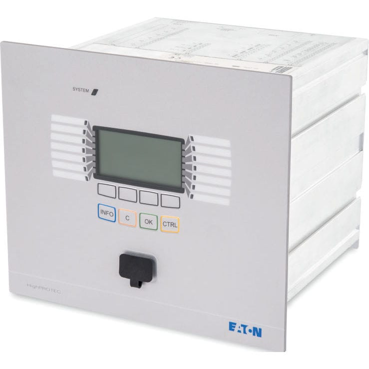 Voltage protection relay / high-voltage / panel-mount - Eaton