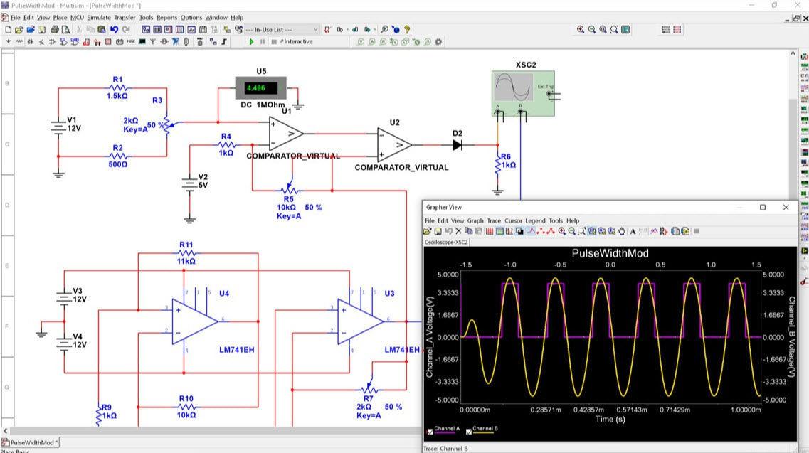 Design software / electronic circuit simulation / printed