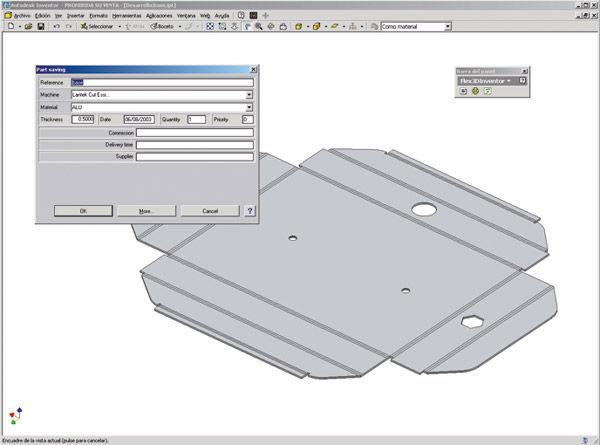 Design software / for sheet metal / 3D / 2D - Lantek Flex3d
