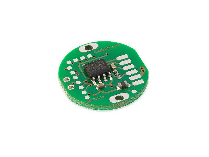 Absolute rotary encoder / magnetic / high-speed / miniature
