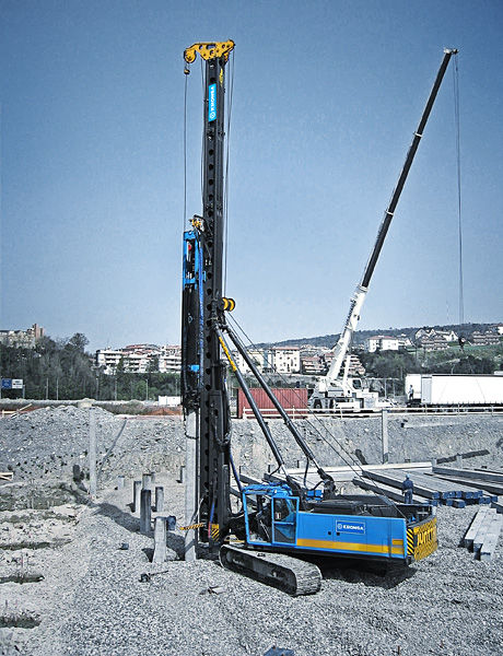 Pile-driving hammer - 64 000 kg | PMx22 - Junttan Oy