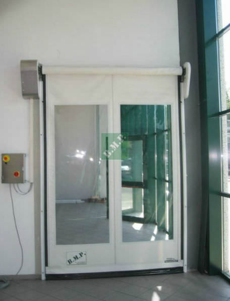 Roll Up Door Polyethylene For The Food Industry Indoor Dynamicroll P E