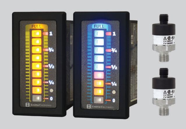 Liquid level gauge - max. 600 mbar, 10 - 30 V   TLG08 - EMITTER - electronic  / for storage tanks