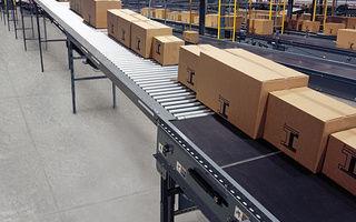 Roller conveyor / carton / horizontal / accumulation - IntelliFlow