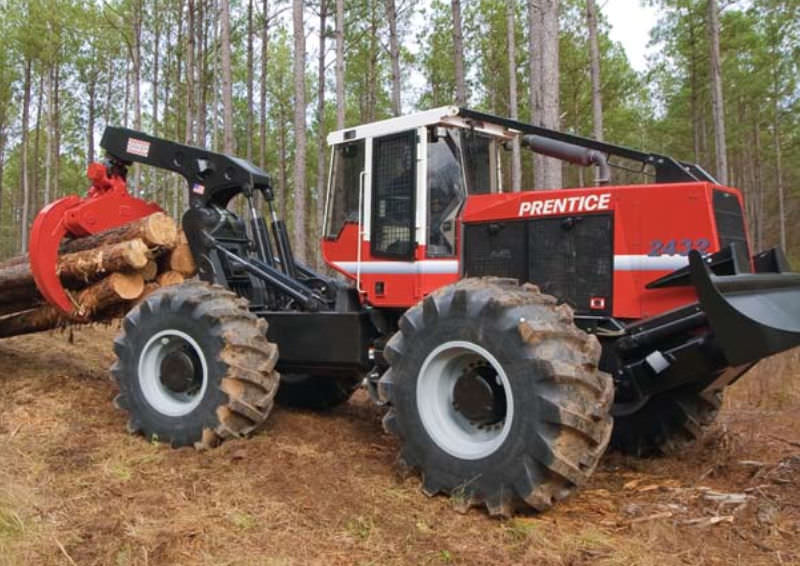 Forestry skidder / with grab - 2430, 2432 series - Prentice