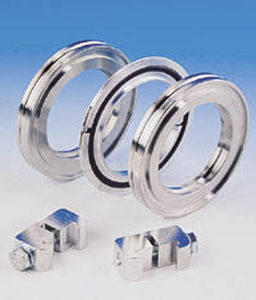 Joining flange / stainless steel / rotating - 2 1/2 - 20