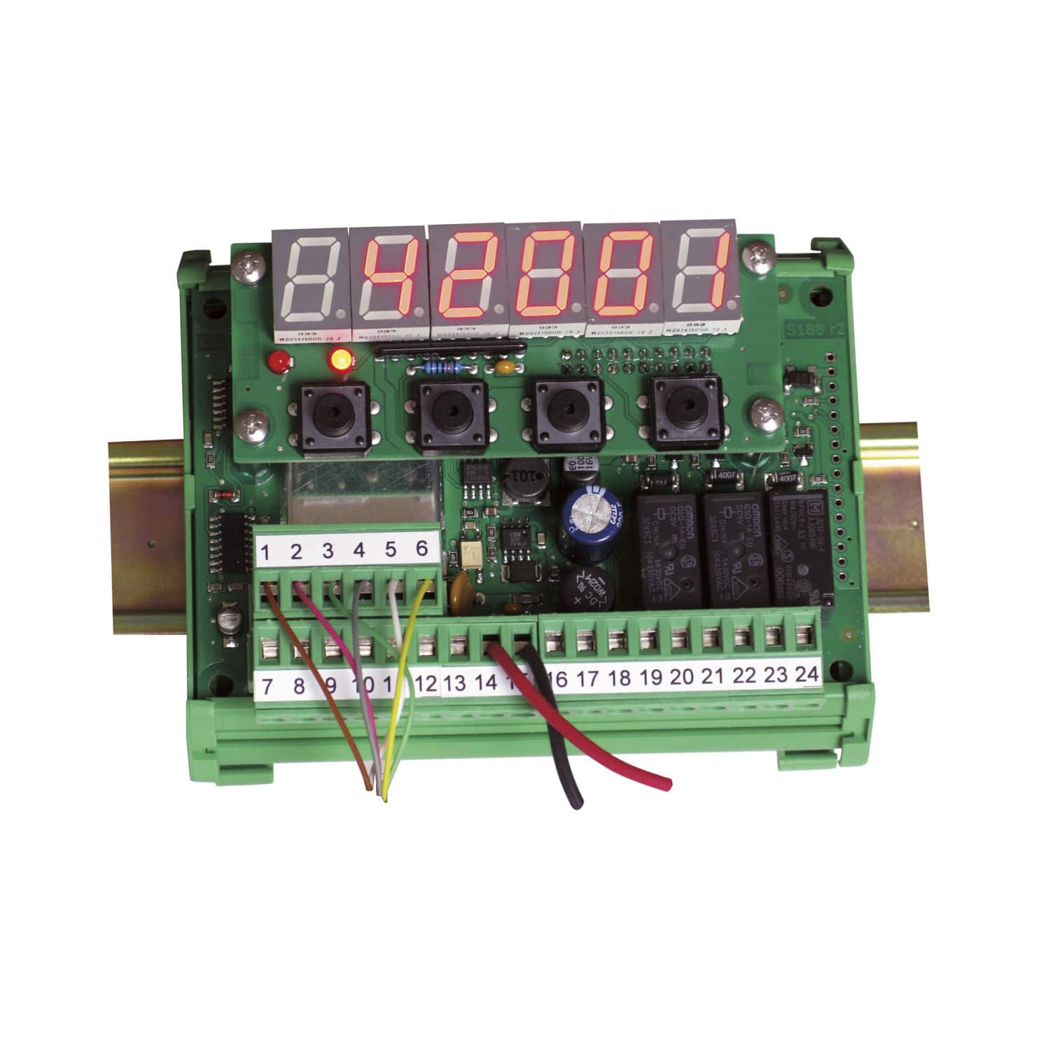 Overload Relay Din Rail Ac Dc Digital Lc 200 Pavone Sistemi Semiconductors And Electronics In An Easy To Understand