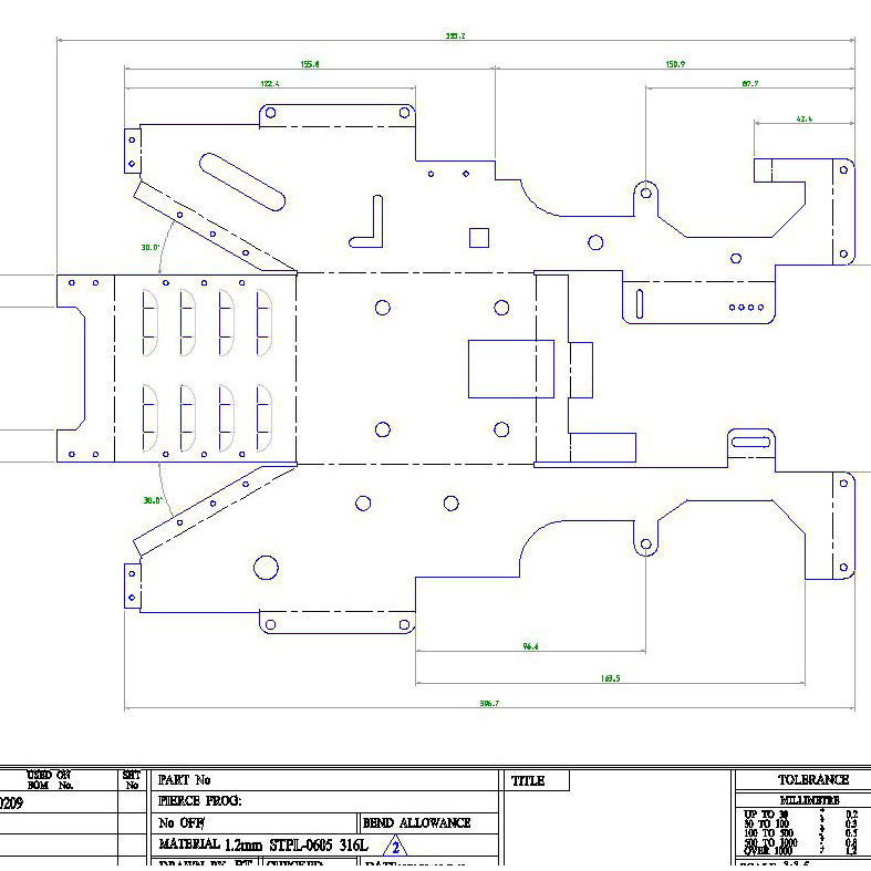 Engineering software / design / schematic drawing / for sheet metal
