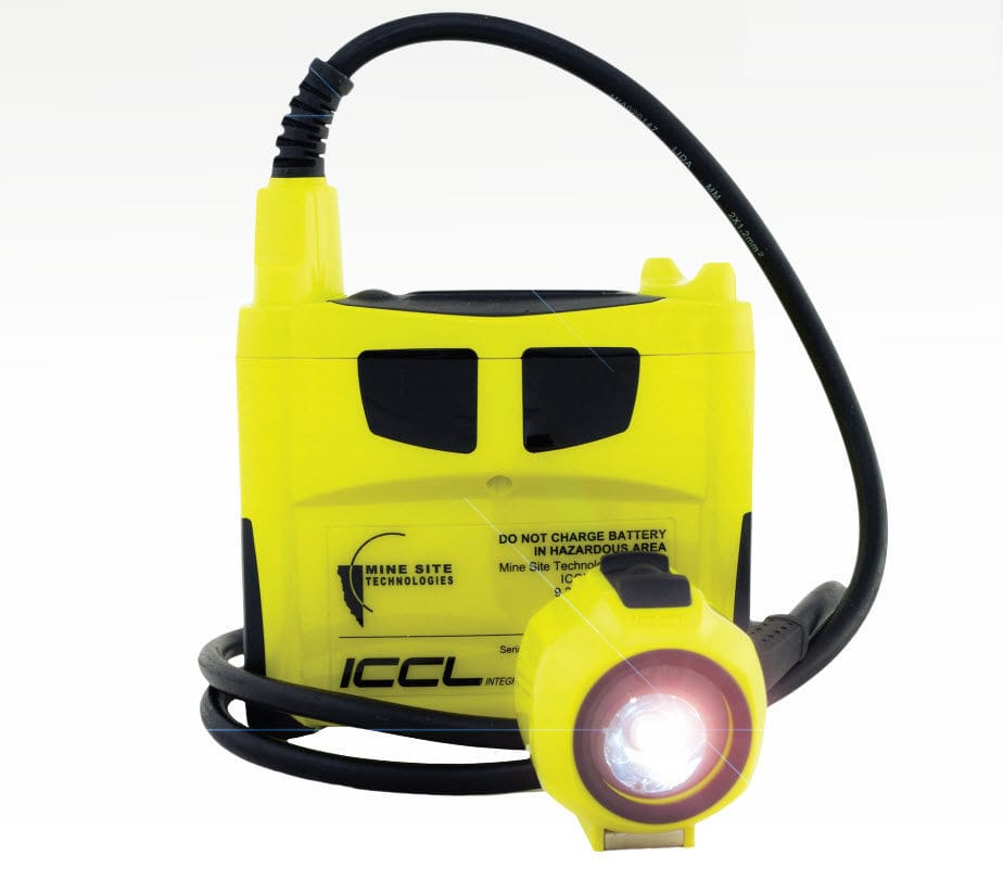 Radio receiver / for mining - ICCL - Mine Site Technologies