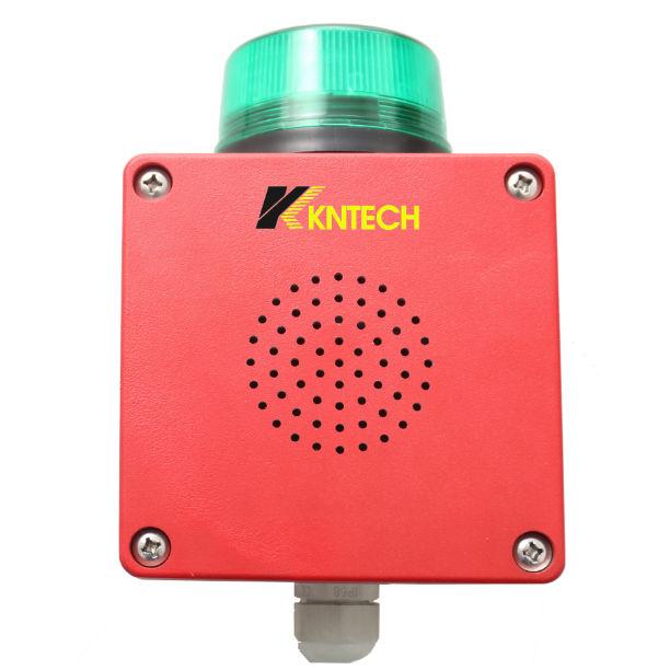 Intrinsically safe alarm sounder / waterproof / ultra-rugged / with signal  light D13 HONGKONG KOON TECHNOLOGY LTD