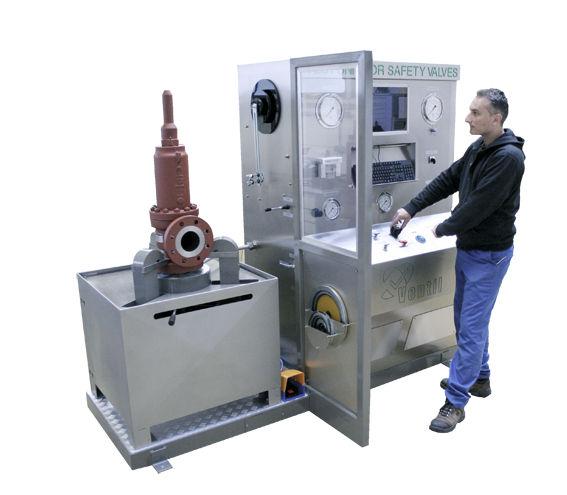 Multi Parameter Test Bench Vc Srv Ventil Test Equipment Bv Safety Valve Hydraulic