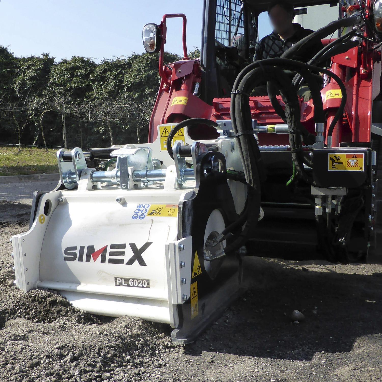 Skid steer loader cold planer / compact / for asphalt PL 60 20 Simex S r l