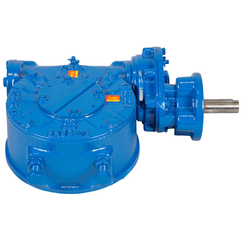 Worm gear reducer / orthogonal / for valves / gearbox - WG
