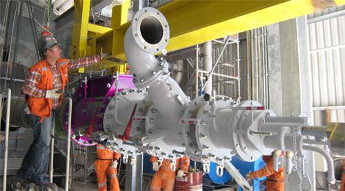 Rotary kiln burner / multi-fuel / nozzle mix - Pillard RotaFlam
