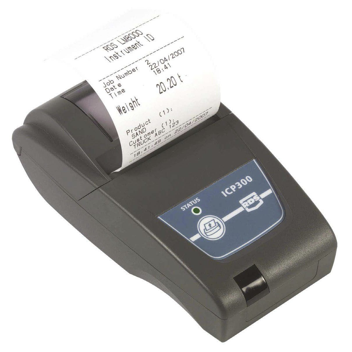 Direct thermal receipt printer - ICP 300 - RDS Technology Ltd