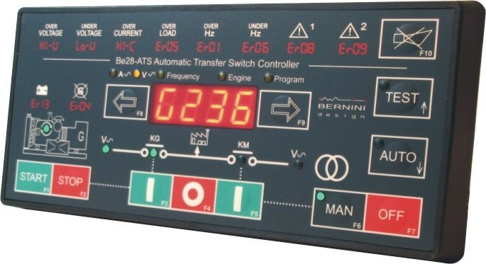 Automatic transfer switch controller - Be28-ATS - bernini