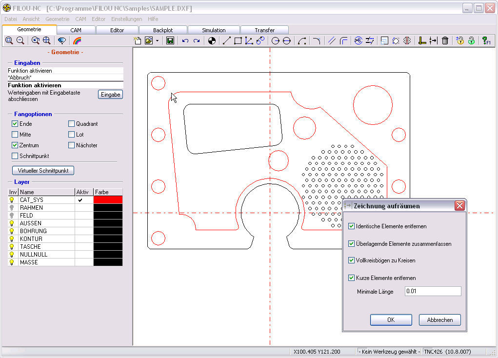 Simulation software / 3D - Filou-NC - CNC-STEP GmbH & Co  KG / 3D