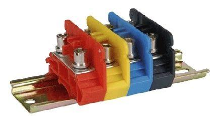 Stud terminal block / DIN rail-mounted - Elmex Controls Pvt  Ltd