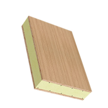 Polystyrene foam core sandwich panel / plywood facing - SPE-XPS