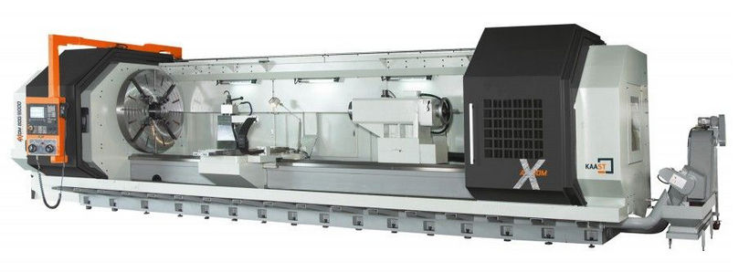 CNC lathe / 2-axis / for heavy-duty machining - AXIOM series