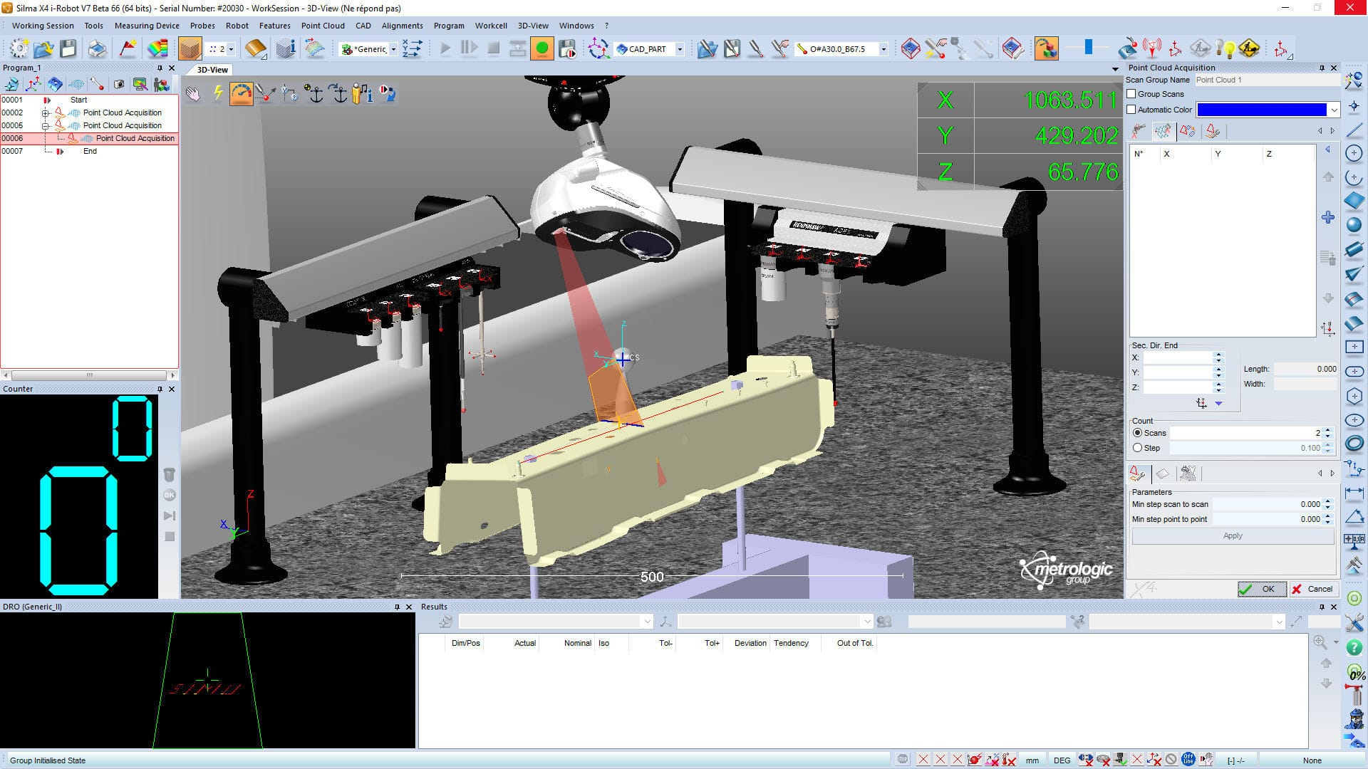Simulation software / for metrology / 3D / off-line - Silma