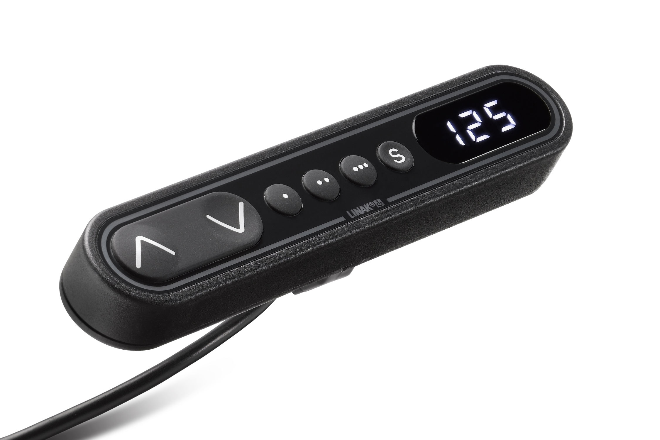 Corded remote control / with buttons / with integrated display / for