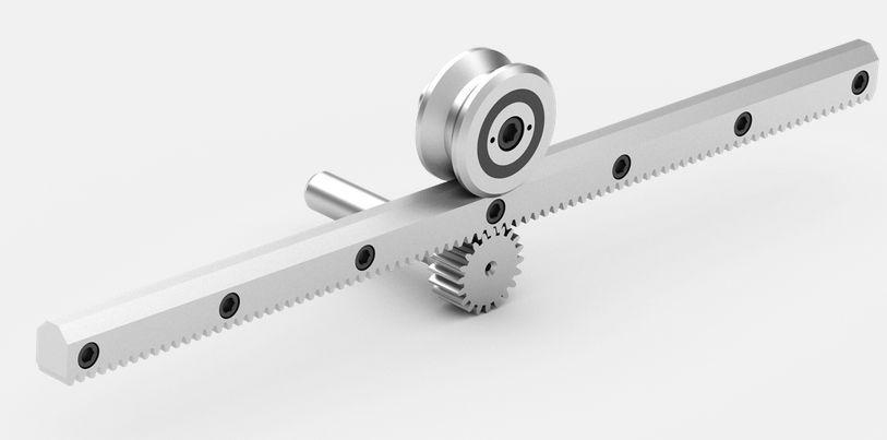 Slide rail / roller / for heavy-duty applications - Güdel