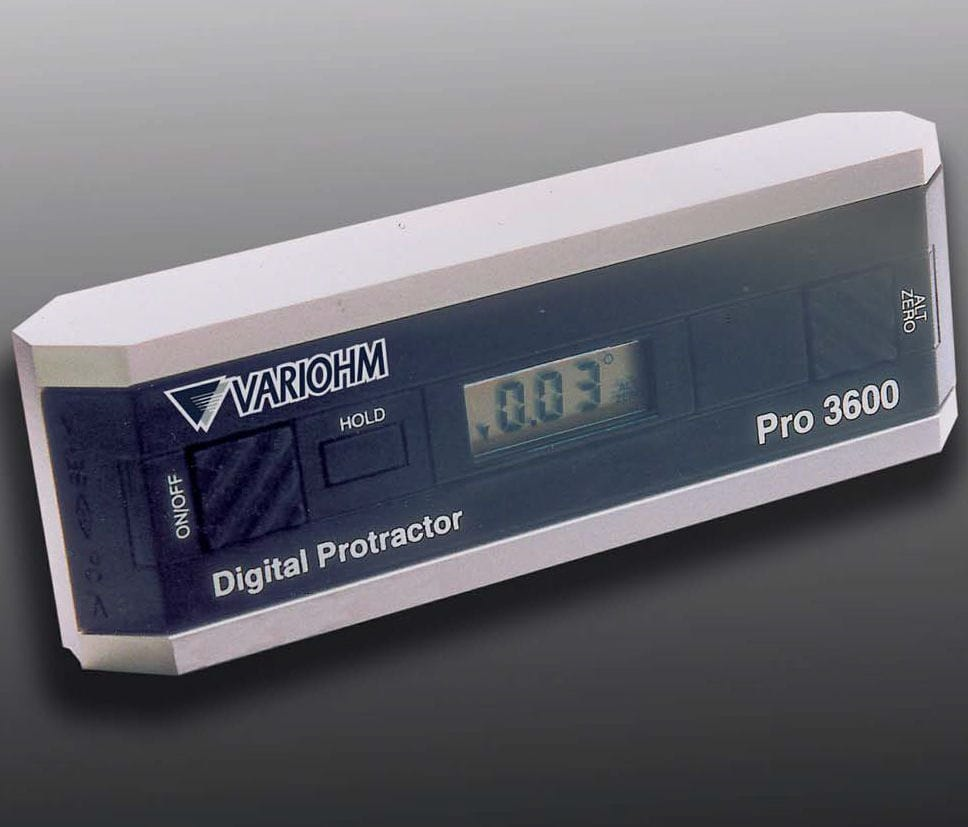 Digital display protractor - PRO 360, PRO 3600 - ALCYON