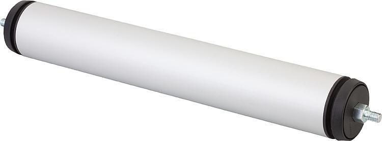 Aluminum profile / round / circular / industrial - 10050