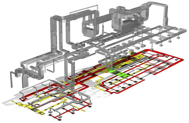 Bim Software Venturisit Gmbh Plumbing Hvac Network Design