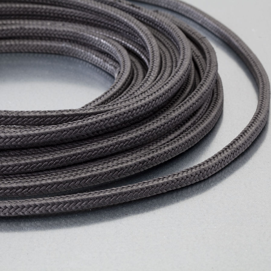 Braided graphite packing / carbon / for high-speed pumps