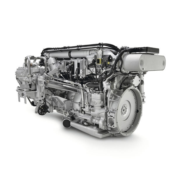 Diesel engine / 6-cylinder / turbocharged / in-line - D2066 LOH/LUH