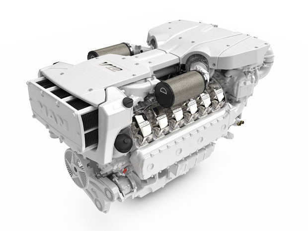 Diesel engine / 12-cylinder / direct fuel injection / for