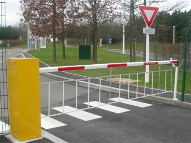Parking barrier / lifting / aluminum - FBX - FRONTIER PITTS