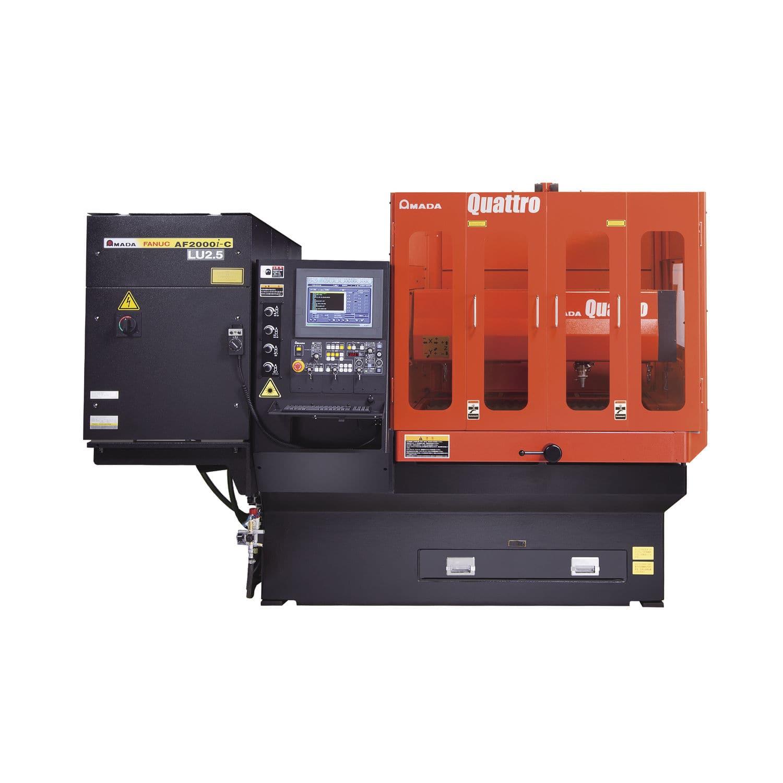 Metal cutting machine / CO2 laser / CNC / compact - QUATTRO