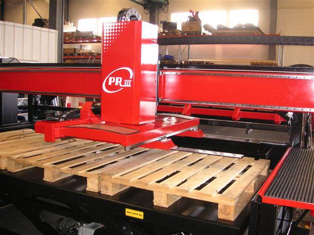 Parts unloader / for CNC machines - PR III series - AMADA