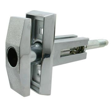 Swing handle / door with lock / metal / square - KLW5 - Camlock Systems