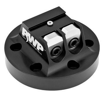 Machine tool vise / spring / aluminum / 5-axis machining