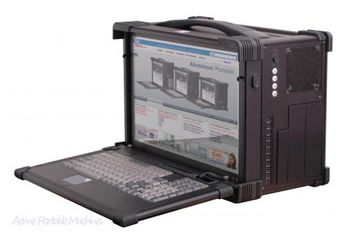 Rugged Portable Computer Workstation