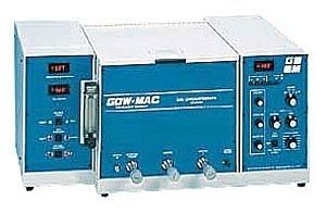 Gas chromatograph / for the analysis of trace impurities