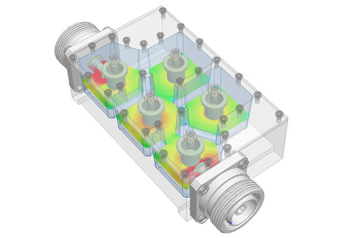 Electromagnetic field simulation software / 3D - ANSYS HFSS