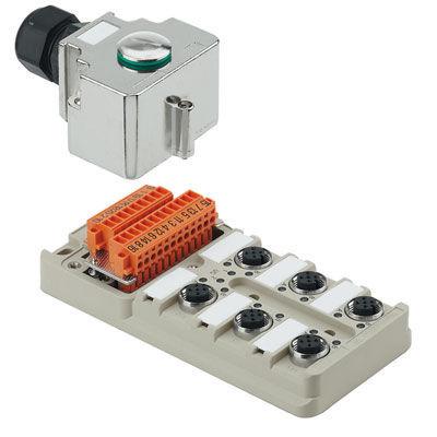 Passive distributor - SAI-M12 series - Weidmüller