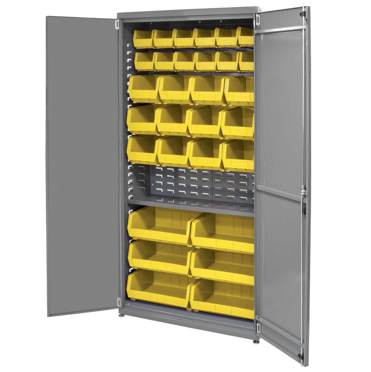 Storage Cabinet Workshop Floor Mounted Steel