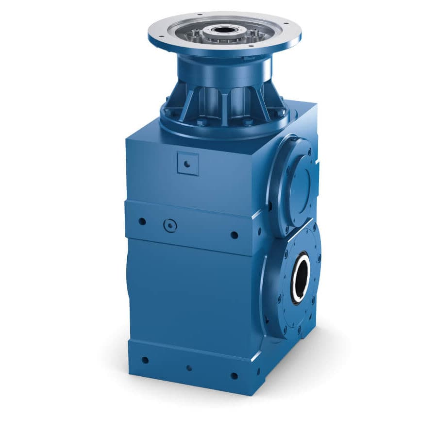 Spiral bevel gear reducer / helical / precision / gearbox