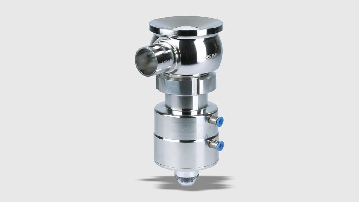 Tank bottom valve / manual / pneumatic / shut-off - VESTA® H_A/T