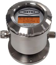 Turbine flow meter / for water / for oil / for fuel