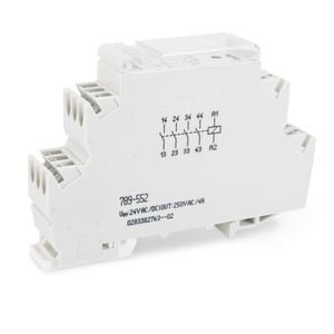 switching relay module / DIN rail mounted / compact