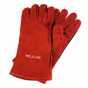 welding gloves / thermal protection / arc protection / leather